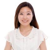 Femme assez asiatique d'affaires de jeunes. Image stock