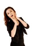 Femme assez coréenne. Photographie stock
