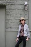 Femme assez coréenne Images libres de droits