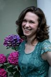 Femme assez jeune #1 photo libre de droits