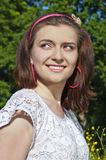 Femme assez jeune Image libre de droits