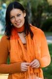 Femme attirant Photographie stock