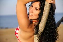 Femme attirant Image libre de droits