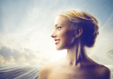 Femme attirante Photos libres de droits