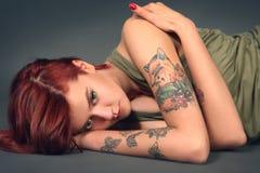Femme attirante Photo stock