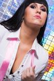 Femme attirante Photographie stock