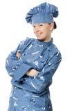 Femme attirante de cuisinier photographie stock libre de droits