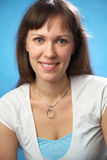 Femme attirante de verticale Image libre de droits