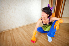 Femme au foyer Photographie stock libre de droits