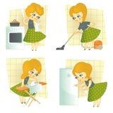 Femme au foyer Image stock