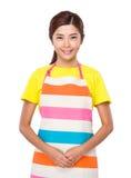 Femme au foyer asiatique Photographie stock