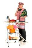 Femme au foyer de ménage photographie stock libre de droits