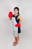 Femme au foyer thaïlandaise asiatique Photo stock