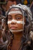 Femme australienne indigène image libre de droits