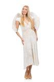 Femme avec des ailes d'ange Images libres de droits