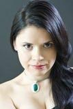 Femme avec des bijoux Photos libres de droits