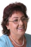 Femme avec des glaces photographie stock