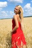 Femme avec du charme Photo libre de droits