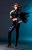 Femme avec le long cheveu Photographie stock libre de droits