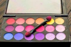 Femme avec le maquillage coloré Images libres de droits