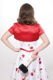Femme avec le marteau Photographie stock libre de droits