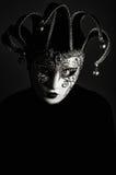 Femme avec le masque de Venise Photos libres de droits