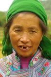 Femme blanche de Hmong Photos libres de droits