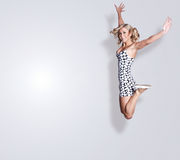 Femme blond Photo libre de droits