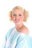 Femme blond Images stock