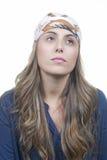 Femme blonde attirante Images libres de droits