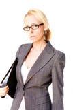 femme blonde d'affaires images libres de droits
