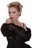 Femme blonde sexy Photographie stock libre de droits