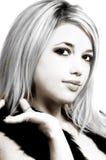 Femme blonde sexy Image libre de droits