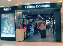 Femme Boutique shop in hong kong Stock Photography