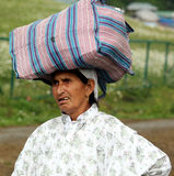 Femme cachemirien Photo stock
