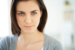 Femme calme Photographie stock libre de droits