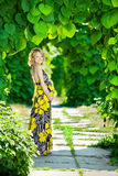Femme caucasienne enceinte Image stock