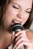 Femme chanteur Image libre de droits