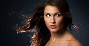Femme chaud Photo stock