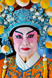 Femme chinoise d'an neuf dans le costume traditionnel Images stock