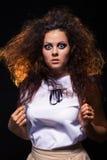 Femme choquée Photo libre de droits