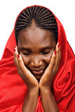 Femme chrétienne africaine Images libres de droits