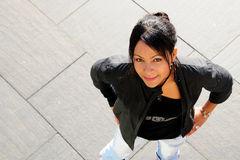 Femme confiant. photos libres de droits
