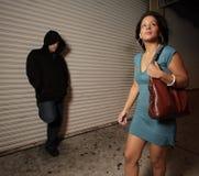 Femme confiant Images libres de droits