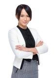 Femme confiante d'affaires Photographie stock