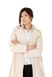Femme confiante d'affaires mûres Image libre de droits