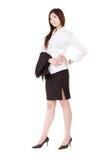 Femme confiante de cadre d'affaires photos stock
