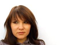 Femme confuse #2 Photos libres de droits