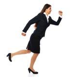 Femme courante d'affaires Image stock