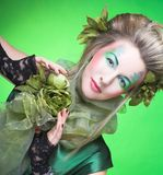 Femme créative Photos stock
